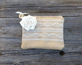 Personalized Clutch, Personalized Bridesmaid Gifts, Bridal Clutch, Wedding Accessories, Bags Purses, Bridesmaid Clutch, Rustic Burlap Bag