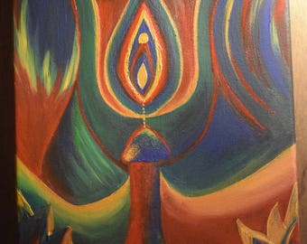 Original 'Conception' Canvas Painting