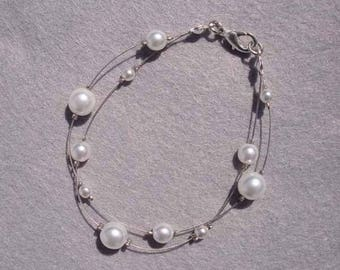 Romantic bridal bracelet
