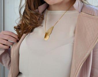 Half Mariposa Necklace