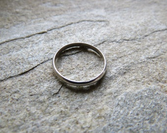 925 Sterling silver 1mm Skinny band ring