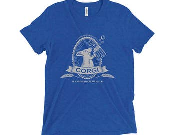 Cardigan Corgi Beer Shirt