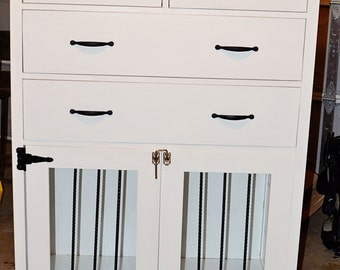 Dresser and dog crate