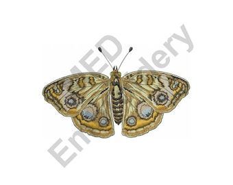 Butterfly Buckeye - Machine Embroidery Design, Moth