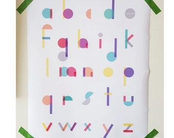 Printable Alphabet Poster