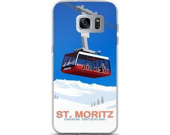 St.Moritz Ski Resort Samsung Case