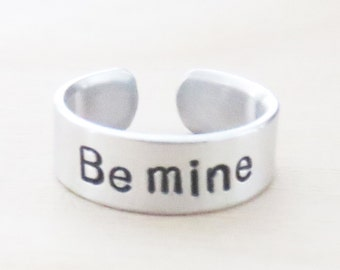 Be mine ring - Valentine gift - Boyfriend ring girlfriend ring - Sweetheart rings - Relationship ring