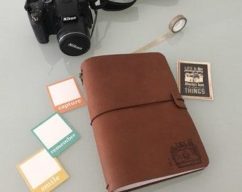 """Tinadori """"polaroid"""" - tn formato a5 - fauxdori - traveler's notebook"""