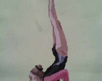 Gymnast Cross-Stitch Eythora Thorsdottir (NED)