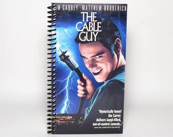 The Cable Guy recyclé VHS boîte cahier à spirale