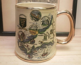 Beautiful ROYAL WINTON Lands End Mug / STEIN