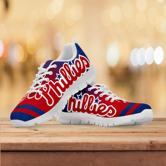 Running Philadelphia Gift Black Trainers Sneakers Mens Collector Gift White Phillies Kids Womens Custom Baseball Shoes Sizes AFx5FgwqU