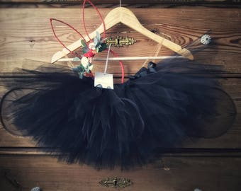 Black, Navy, Green or Custom Colour Tutus, Tulle Skirt, Short Bridesmaid tutu, Ballet Tutu UK, Girls Tulle Tutu Skirt, Knee Length Skirt UK