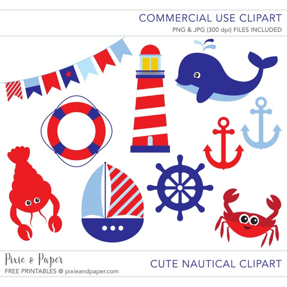 commercial use clipart commercial use clip art nautical rh etsy com copyright free clipart for commercial use free whale clipart commercial use