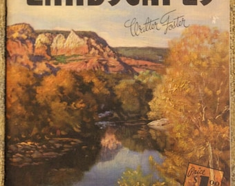 How to Draw and Paint Landscapes | Walter T. Foster Publication (1985)