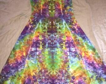 6116 Small Rayon Long Ribbon Strap Dress