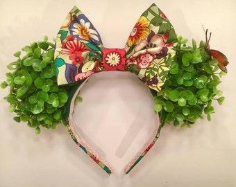 EPCOT Flower and Garden Festival Minnie ears