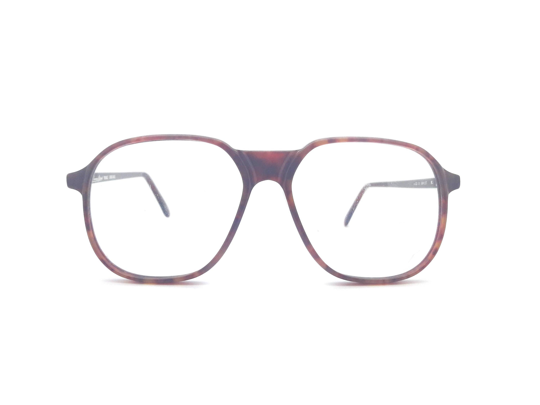 Echte 1980er Jahre Anglo amerikanischen optische 131 BL Brille