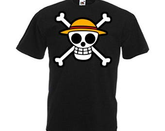 One Piece Pirate Hat Men's T Shirt