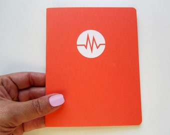 Mini Health / Pain / Migraine / Headache Tracker Notebook with custom color covers