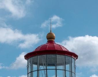 Cape Mendocino Lighthouse Top 8x10 Print