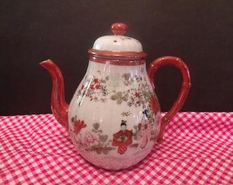 Vintage Japanese Geisha Tea Pot, (# 599/23)