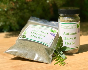 Autumn Harvest Herbs
