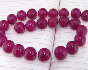 """strand Round  Jade Beads ----- 16mm ----- about 24Pieces ----- gemstone beads--- 15"""" in length"""