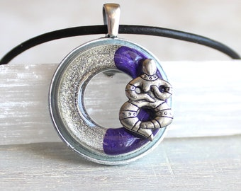 snake goddess necklace, fertility goddess, mother earth, goddess jewelry, female divine, feminist jewelry, unique gift, Wiccan jewelry