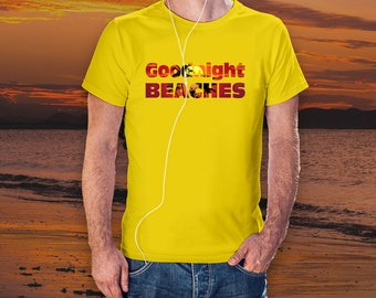 Goodnight Beaches T-Shirt Vacation Spring Break Short-Sleeve Unisex Jersey T-Shirt