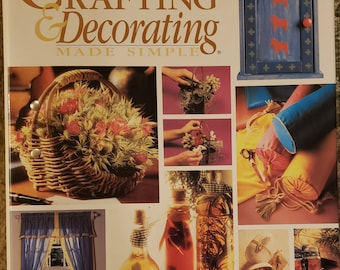 Crafting & Decorating Made Simple - A Spiral Bound Book