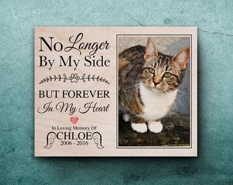 Cat Memorial, Pet Memorial,  Photo On Wood, Pet Memorial Frame, Pet Bereavement, Pet Memorial Picture Frame, Pet Memorial Gifts