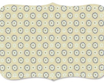 Cotton fabric organic beautiful quality printed Poplin background pattern inspired by Provence small white flowers designs