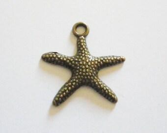 Sea stars 4 charms