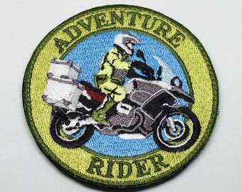 Adventure Rider Morale Patch with Velcro