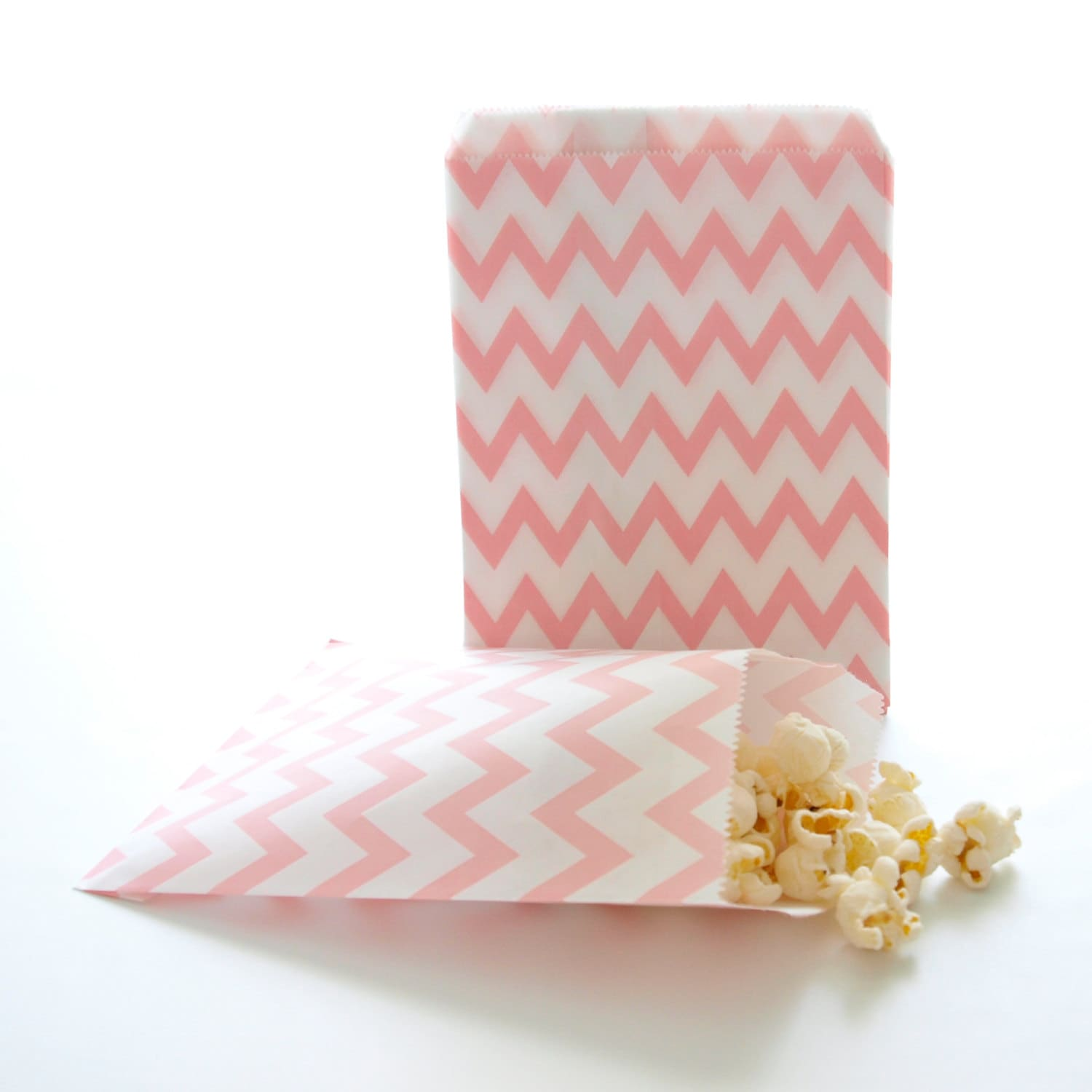 Pink Favor Bags Baby Shower Goodie Bag Small Treat Bags