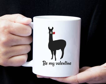 Personalized Llama Mug, Llama Coffee Mug, Llama Mug, Alpaca Mugs, Llama Love Mug, Llama Gift, Lllama Love Mug, Llama Love, I Llama You Mug