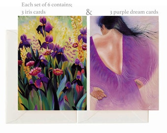 Fine Art Greeting Cards Set of 6