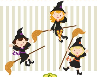 cute witch art etsy rh etsy com cute witch clipart cute witch clipart