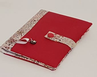 Agenda 2018 in Liberty Adelajda terra cotta and red faux leather