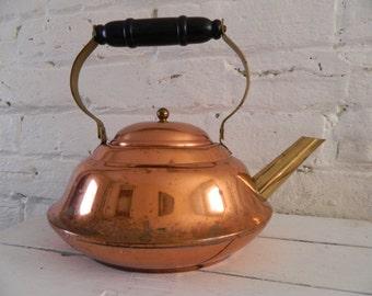 Vintage Coppercraft Guild Copper Tea Pot