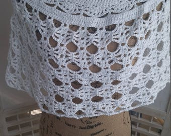 Crochet Shimmery Shrug