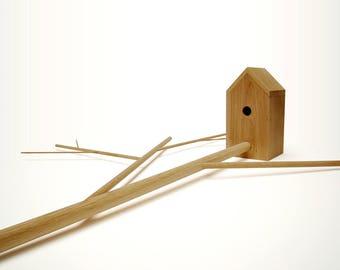 """birdhouse """"Birdhouse"""" oak"""