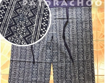 Indigo-dyed fabric Thai Fisherman Pants (TH4954)