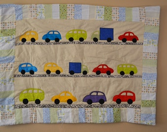 Cars Cars Cars Baby Quilt