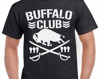 Buffalo Club T-Shirt Bullet Club NY 716