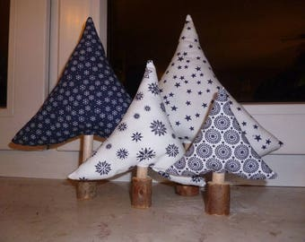 Fabric Christmas tree Kit