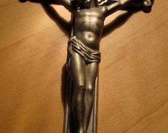 Vintage Crucifix IHS
