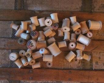 Wooden Spools for Repurposing