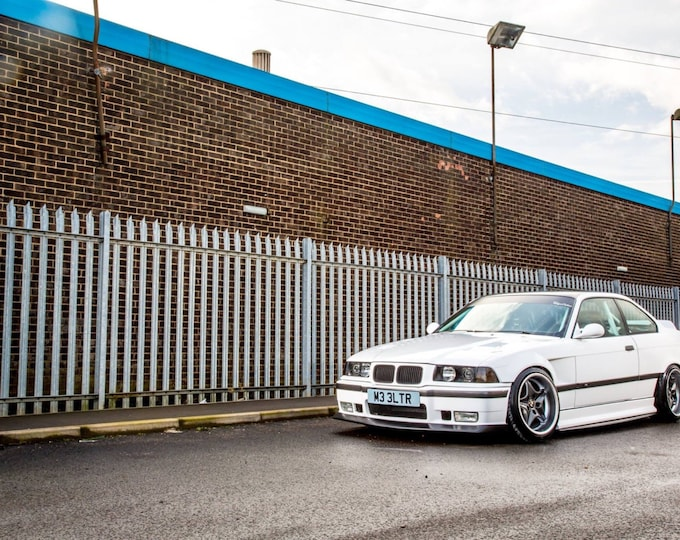 E36 coupe vented widearch front wings 30mm replacment wings 3series